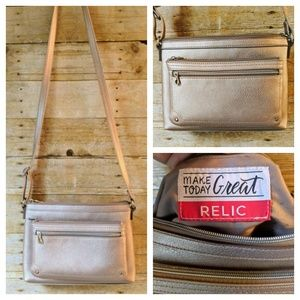 Relic | Rose Gold Crossbody Bag